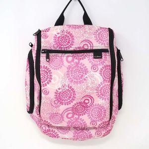 L.L. Bean Pink Starburst Travel Toiletry Bag